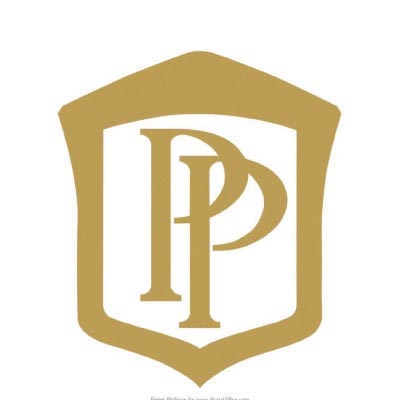 Custom patek philippe logo iron on transfers (Decal Sticker) No.100693